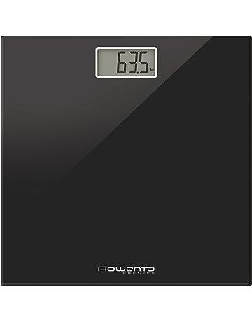 Rowenta Premiss - Báscula Digital con Pantalla LCD, compacta, Capacidad de 150 kg,