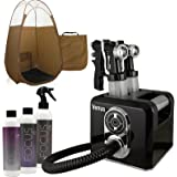Venus Spray Tan Machine Kit with Tent & Sunless Airbrush Tanning Solution