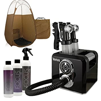 Venus Spray Tan Machine Kit with Tent u0026 Sunless Airbrush Tanning Solution (Bronze)  sc 1 st  Amazon.com & Amazon.com : Venus Spray Tan Machine Kit with Tent u0026 Sunless ...