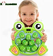 Whack a Frog Activity Game,Early Developmental Toy A Frogs Game, Learning, Active, Fun Gift for Age 2- 8 Years Old Kids, Boy
