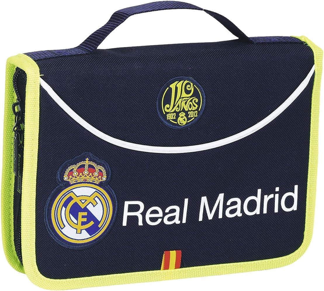 Safta - Real Madrid 2ª equipación Estuche maletín, 34 Piezas, 21 x 15 cm (411357549): Amazon.es: Ropa y accesorios
