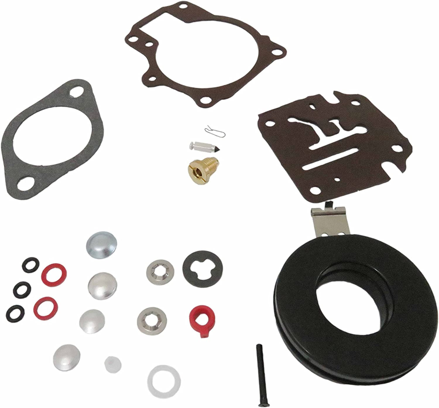 396701 Carb Repair Kits For Johnson Evinrude Carburetor 18 20 25 28 30 35 40 45 48 50 55 60 65 70 75 HP Outboard Motors with Floats