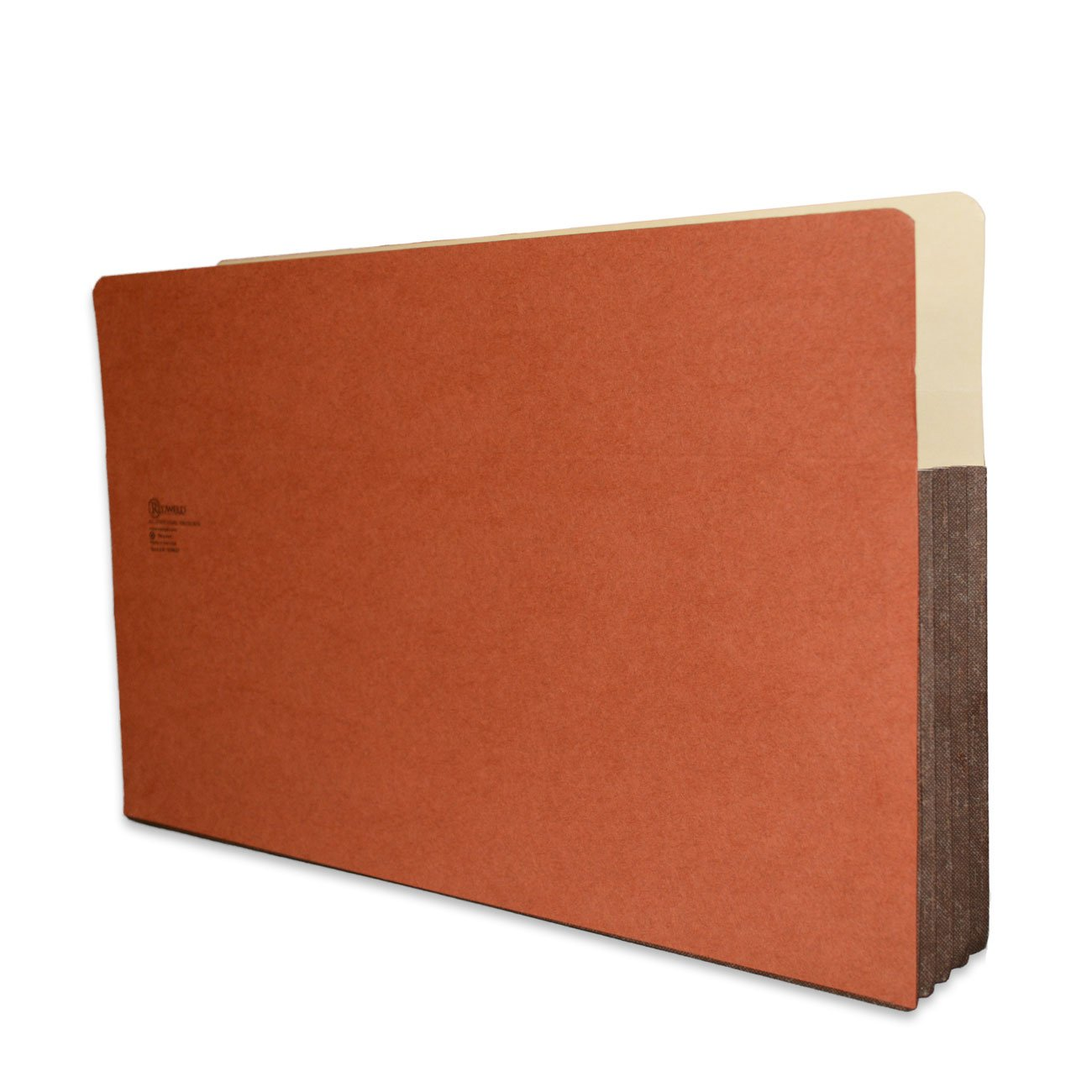 Redweld File Pocket, Top Tab, Extra Large Legal Size with 3 1/2'' Fully Reinforced Tyvek Gusset, 50 per Carton