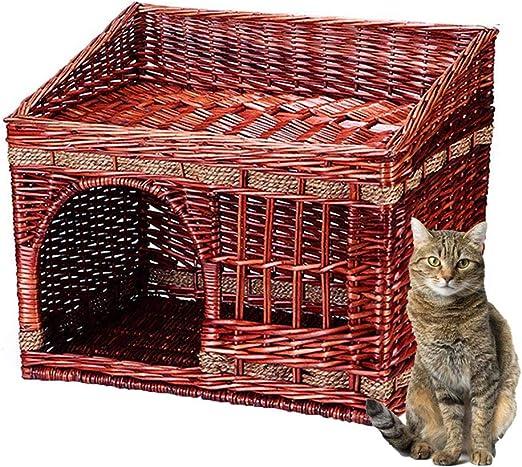 Cama Premium para Gatos, Cama para Gatos con Radiadores De Bambú ...