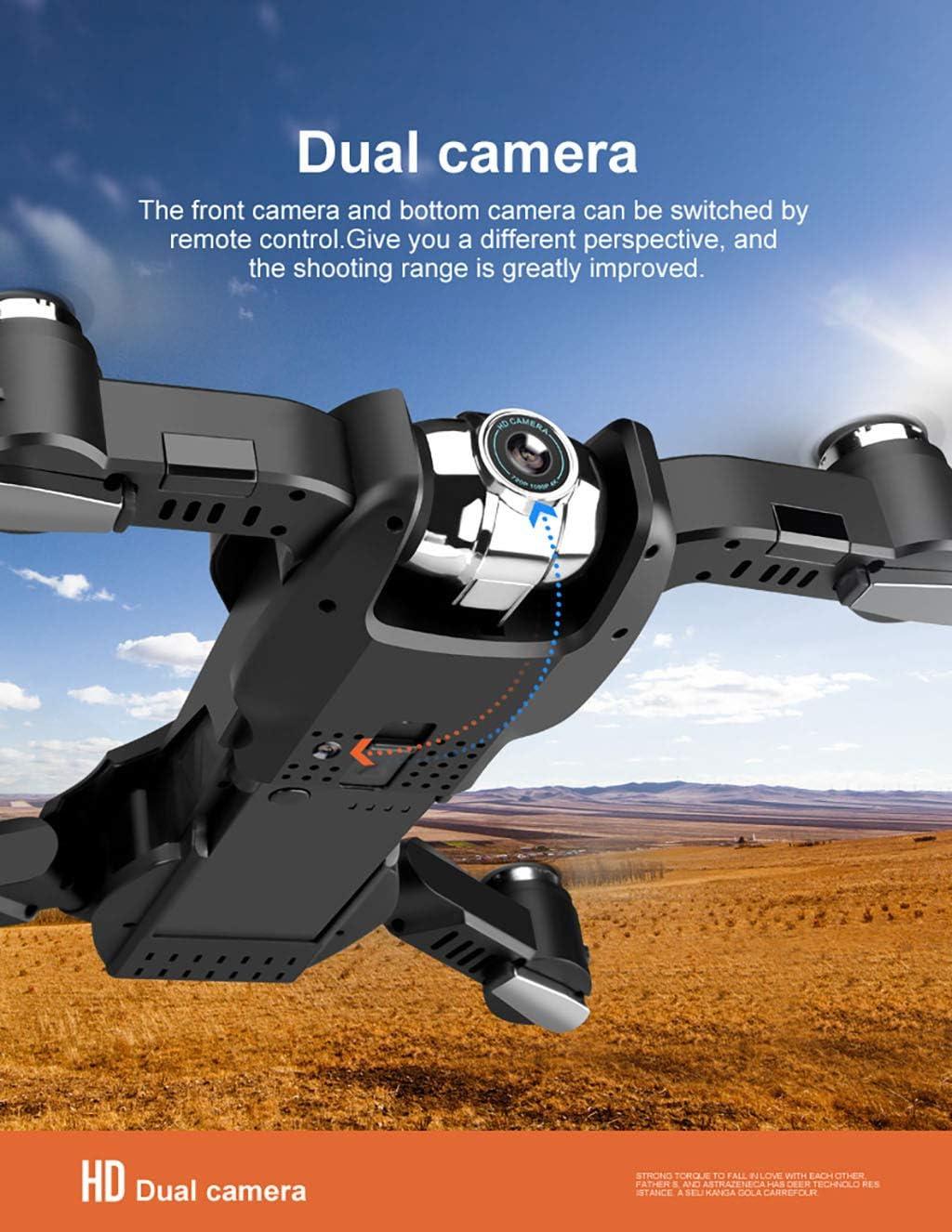 TwoCC Drone,2.4G Wifi Fpv 1080P Hd Cámara Hd Cámara Plegable Gran ...