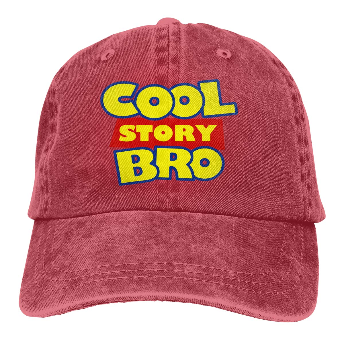 Cool Story Bro Adult Trendy Jeans Sun Hat Adjustable Baseball Cap
