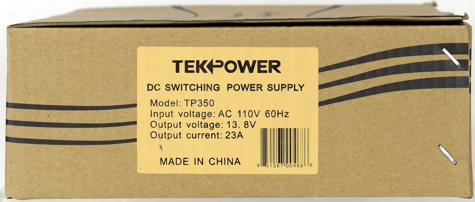 TekPower TP350 23 Amp DC 13.8V Switching Power Supply with Cigarette Plug by Tekpower (Image #5)