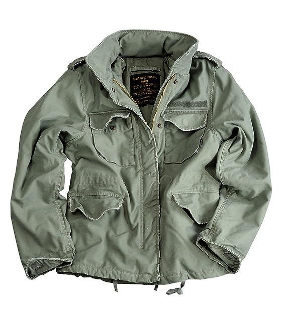 niskie ceny na sprzedaż online największa zniżka Giacca donne Alpha Industries M65 VF 59 103002 Verde salvia ...