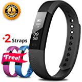 Fitness Tracker - Smart Watch - Activity Tracker - Pedometer Watch Bracelet - Smart Band Wristband - Step Tracker Counter Sleep Monitor Sports Waterproof Trackers Watches - Device for Women Men Kids