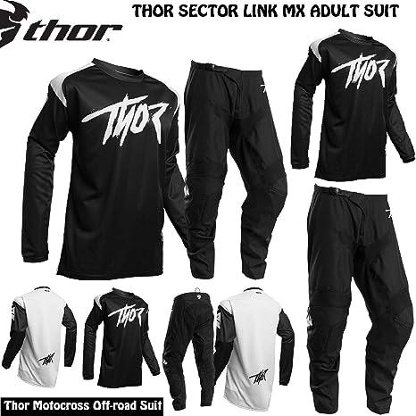 Thor Sector Link MX - Chándal de Motocross para Adulto, Camiseta y ...
