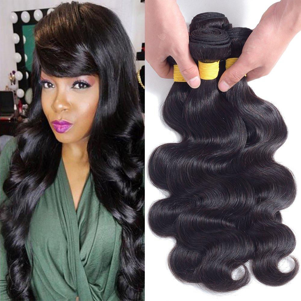 Amy Hair 8a Grade Malaysian Body Wave Hair Bundles 100 Unprocessed