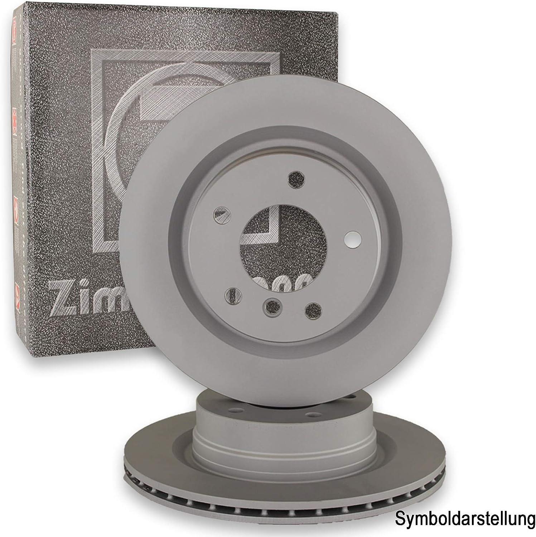 ZIMMERMANN Bremsscheiben /Ø330mm ZIMMERMANN Bel/äge hinten Bremsenkit Komplettset 500ml Bremsenreiniger