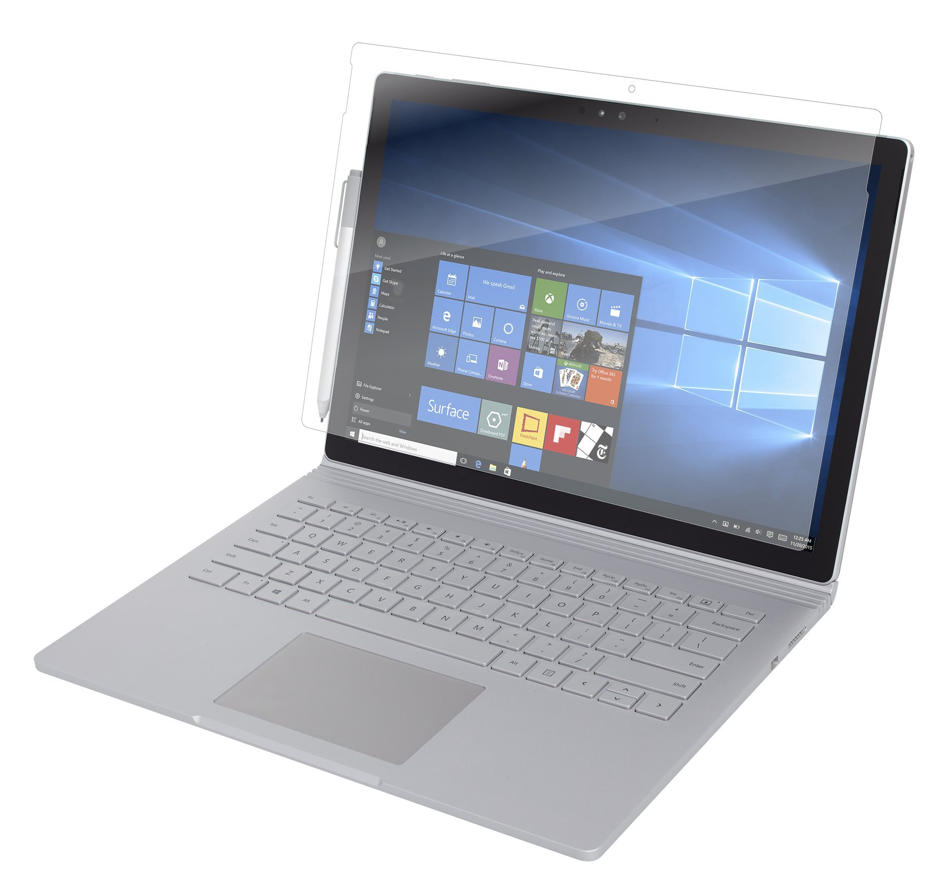 ZAGG InvisibleShield Glass Screen Protector for Microsoft Surface Book