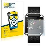 BROTECT AirGlass Protector Pantalla Cristal Flexible Transparente para Fitbit Blaze Protector Cristal Vidrio - Extra-Duro, Ultra-Ligero, Ultra-Claro