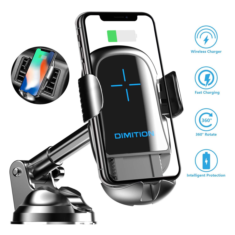Soporte Celular para Vent. de Autos + Cargador - 7T3RH6C4