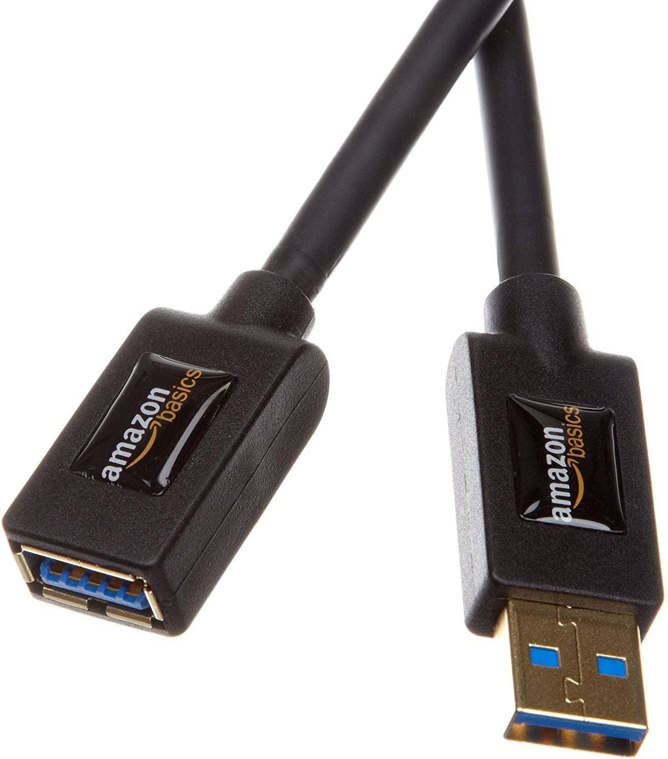 2 Pak Amazon basics 2.0 USB A-Male to USB A-Female extension cable 1meter