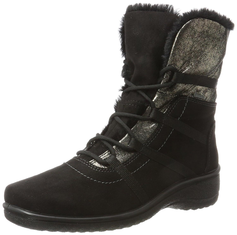 Ara München-St-Gor-Tex, Botas de Nieve para Mujer38.5 EU|Negro (Schwarz)