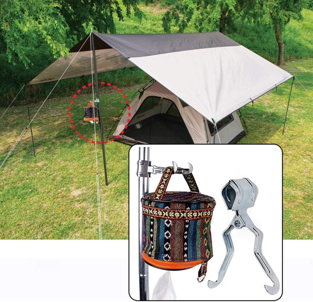 dljztrade Haken Zeltstange zum Aufh/ängen von Lichtern f/ür den Au/ßenbereich multifunktional Camping Eisen