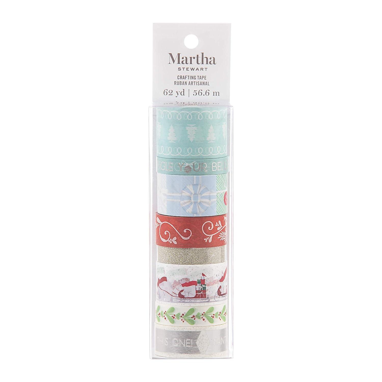 Assorted Martha Stewart 30068352 Washi Tape-Presents /& Polar Bears