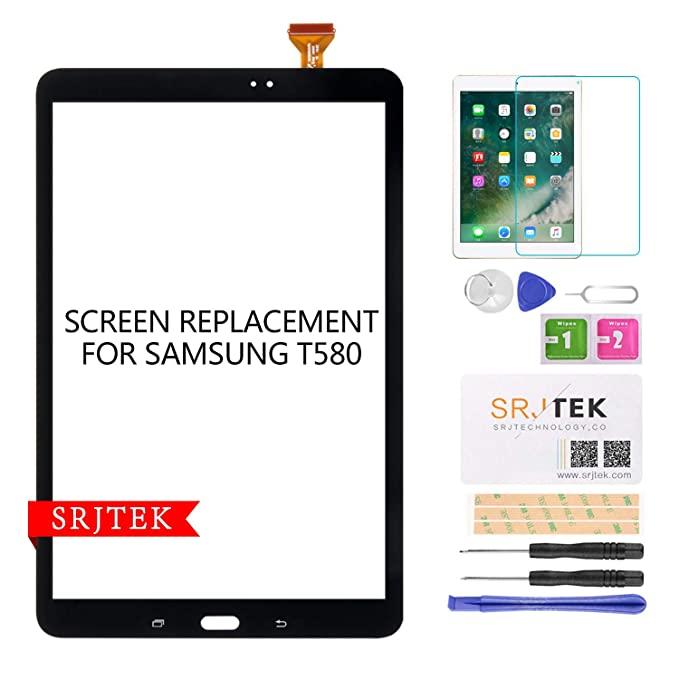 Dependable New Samsung Galaxy Tab A 10.1 Sm-t580 Sm-t585 Touch Screen Digitizer Front Glass Cell Phones & Accessories