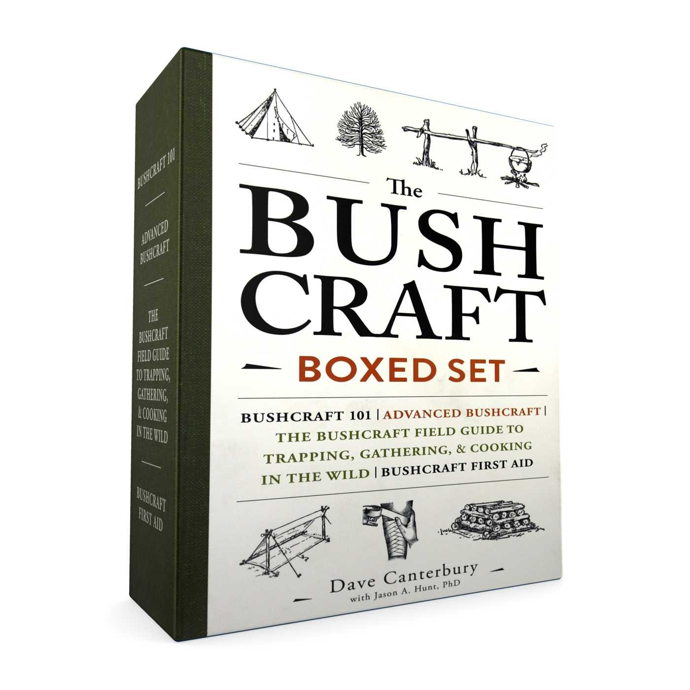 The Bushcraft Boxed Set: Bushcraft 101; Advanced Bushcraft; The Bushcraft Field Guide to Trapping, Gathering, & Cooking in the Wild; Bushcraft First Aid by Adams Media