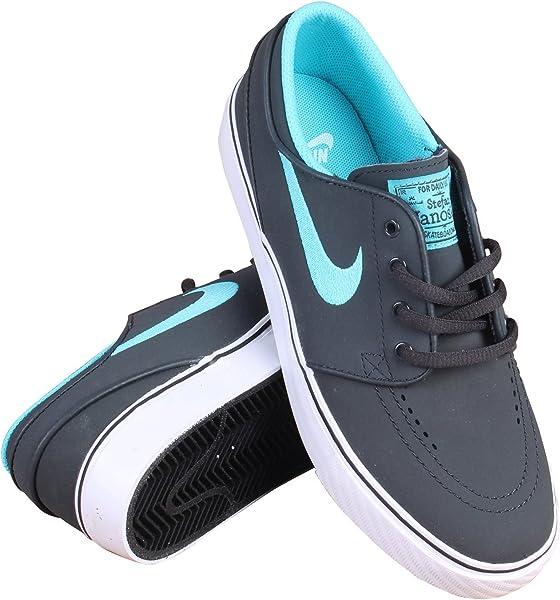 4d77b167 Nike SB Stefan Janoski NB BG Gradeschool Anthracite/GMM Blue-White-Blk -
