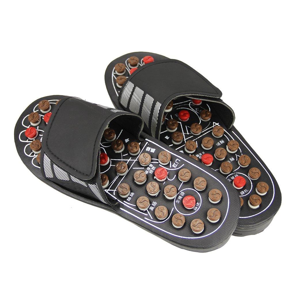 5b4285c8026ee JINTN Unisex Foot Massage Acupressure Slippers Reflexology Foot Slipper  Massage Sandals Shoes Feet Massager Slippers for Women Men
