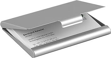 Visitenkartenetui Aluminium Amazon De Bürobedarf