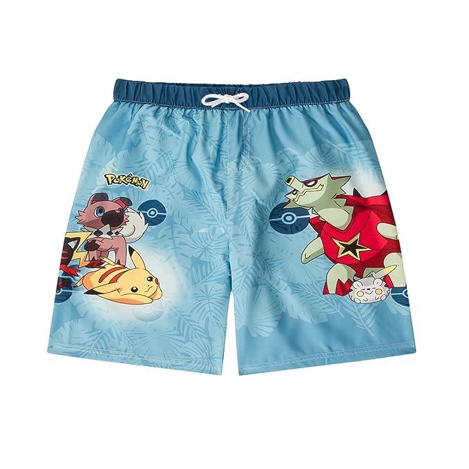 e58f62c71f Boys Childrens/Kids Pokemon Swim Shorts Swimming Trunks Age 5-6 Years