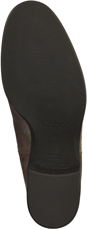 Gabor Damen Fashion Fashion Fashion Chelsea Stiefel Grau c867e0