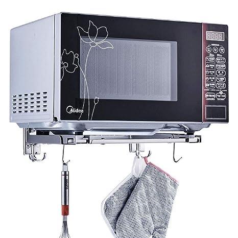 Soporte de horno de microondas de acero inoxidable Soporte ...