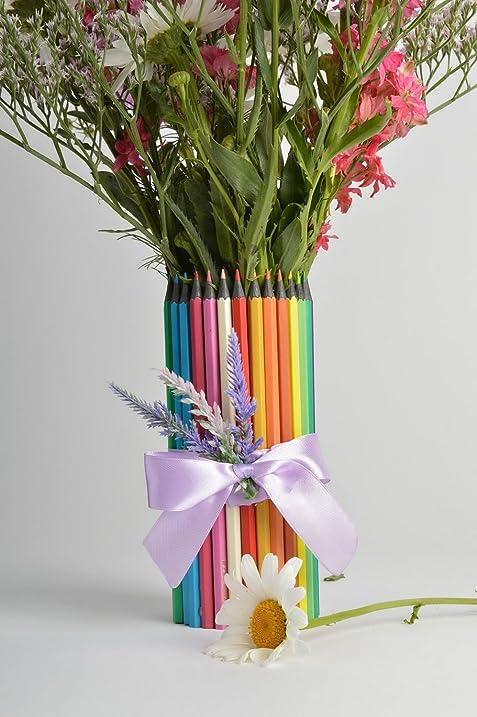 Amazon Unusual Creative Handmade Glass Flower Vase Designed