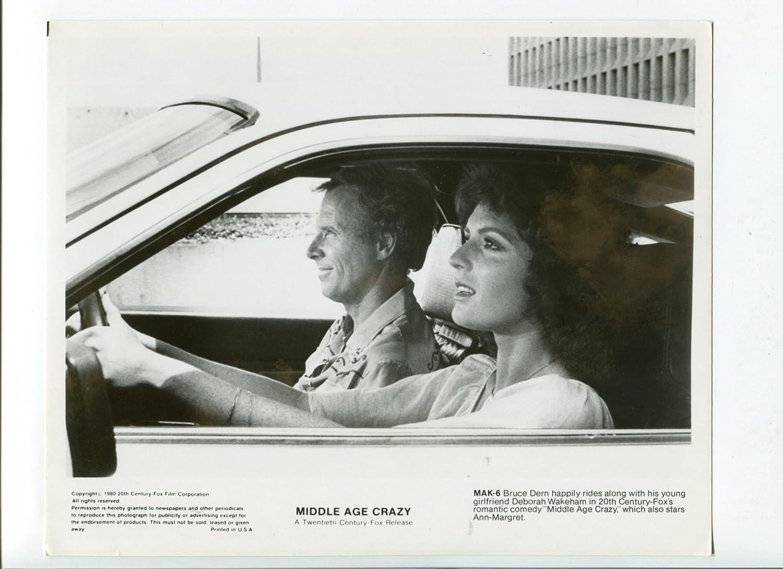 MOVIE PHOTO: Middle Age Crazy-Deborah Wakeham and Bruce Dern-8x10-B&W-Still