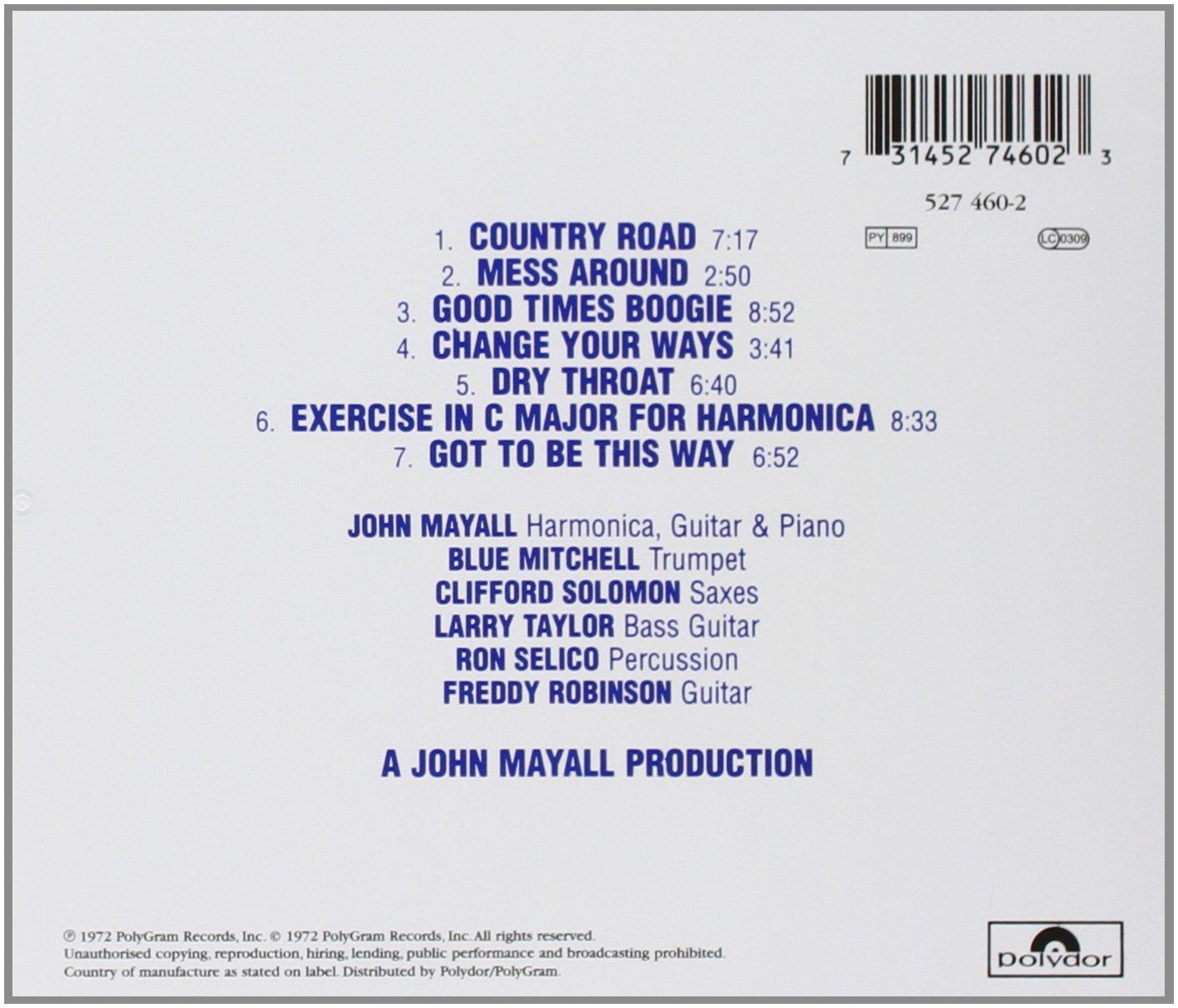 Jazz Blues Fusion: John Mayall, John Mayall: Amazon.ca: Music