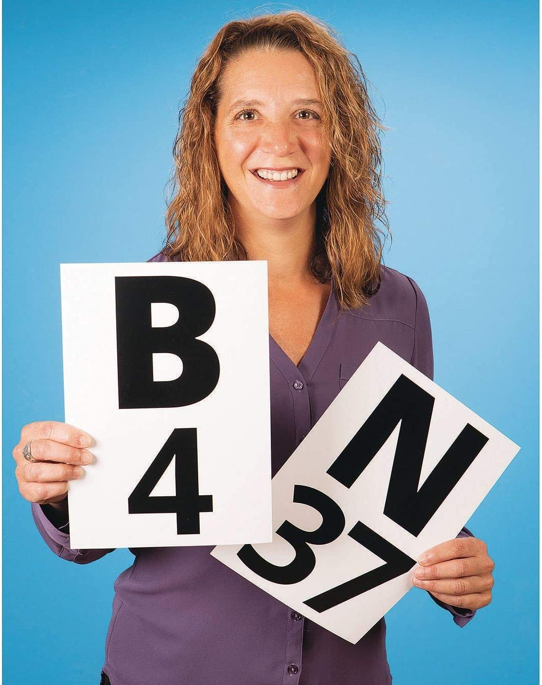 S/&S Worldwide S/&Sa Giant Bingo Calling Cards