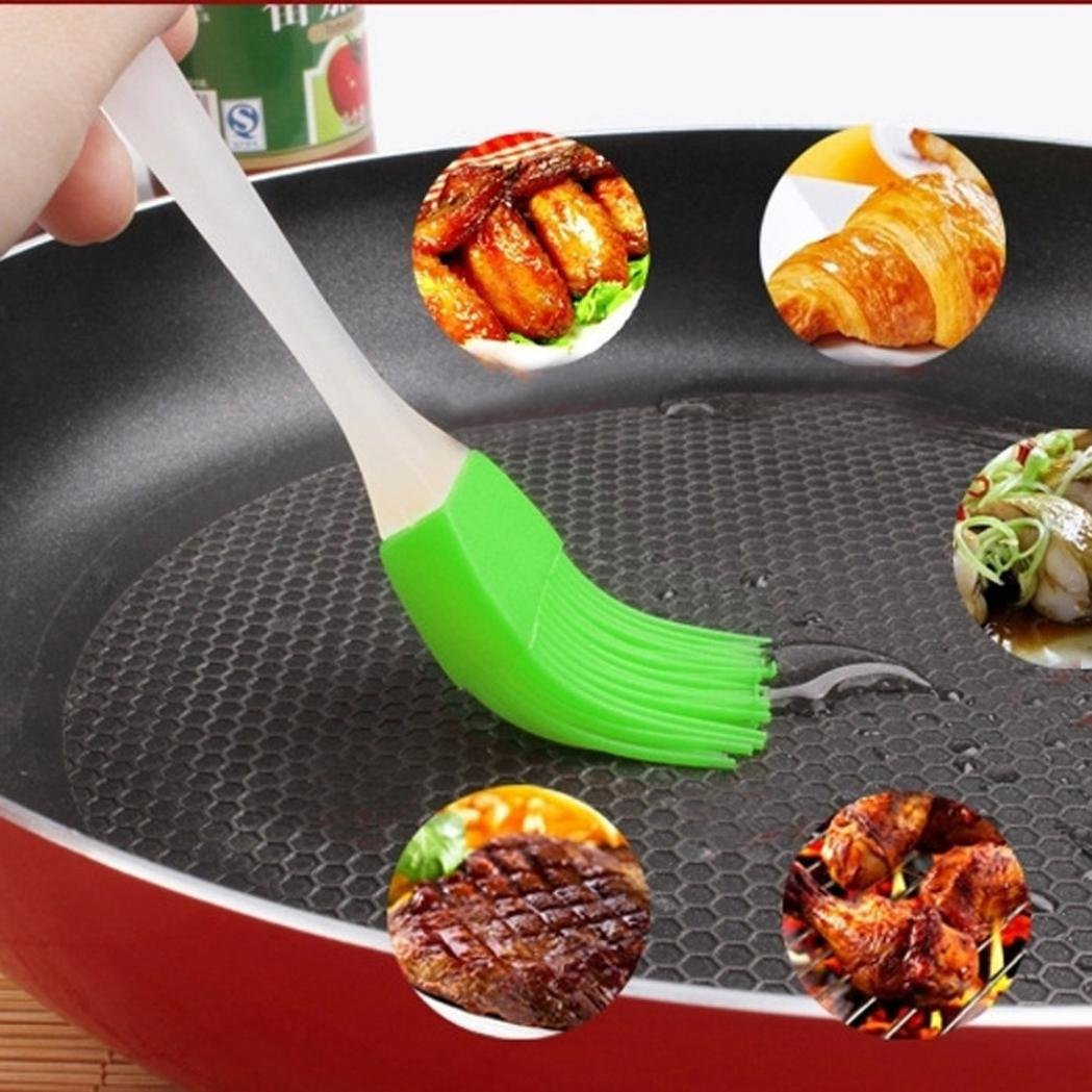 LtrottedJ Silicone Baking Bakeware Bread Cook Pastry Oil Cream BBQ Tools Basting Brush