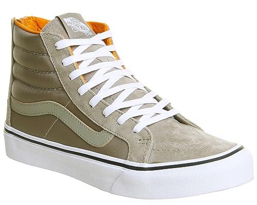 debdf6a02f5a Vans Sk8 Slim Zip Hi-Top Sneakers  Amazon.co.uk  Shoes   Bags