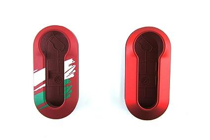 Amazon Com Genuine Fiat Accessories 82212677 Red With Graphic 1