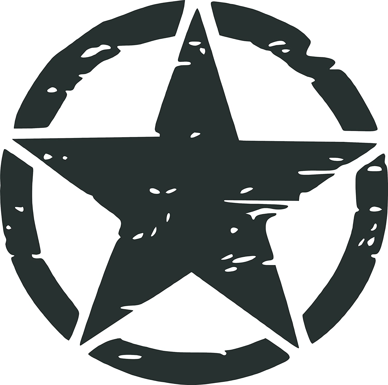 ARMY STAR VINYL Decals Sticker BUY 2 GET 1 FREE