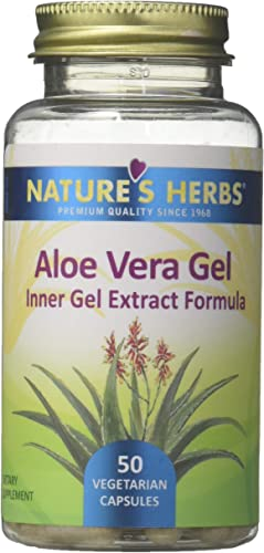 Zand Aloe Vera Gel Herbal Supplements, 50 Count