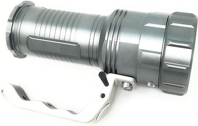 Militaire-Style Zoom DEL Torche Lampe de poche 10000 Lm puissant projecteur torche EE
