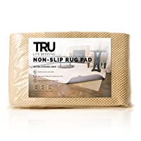 TRU Lite Extra Strong Rug Gripper - Non Slip Furniture Pad - Indoor Carpet Pad for...