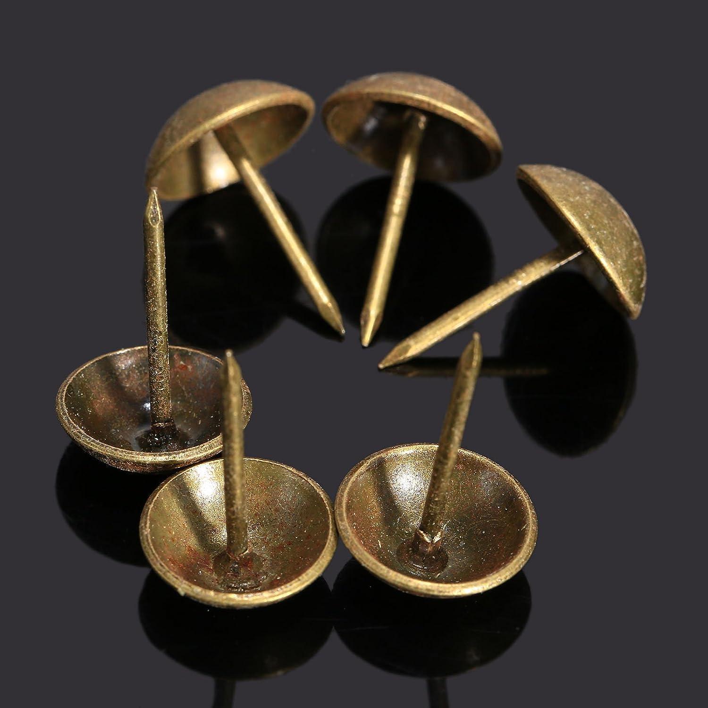 Dophee 100Pcs Upholstery Nail Sofa Decorative Tack Jewelry Gift Box ...