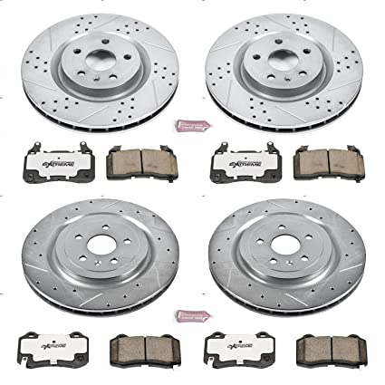 Power Stop K5603-26 1-Click Street Warrior Z26 Brake Kit