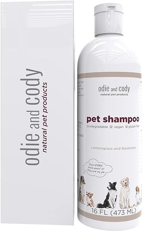 Odie y Cody mascotas Champú, mejor natural perro champú orgánico ...