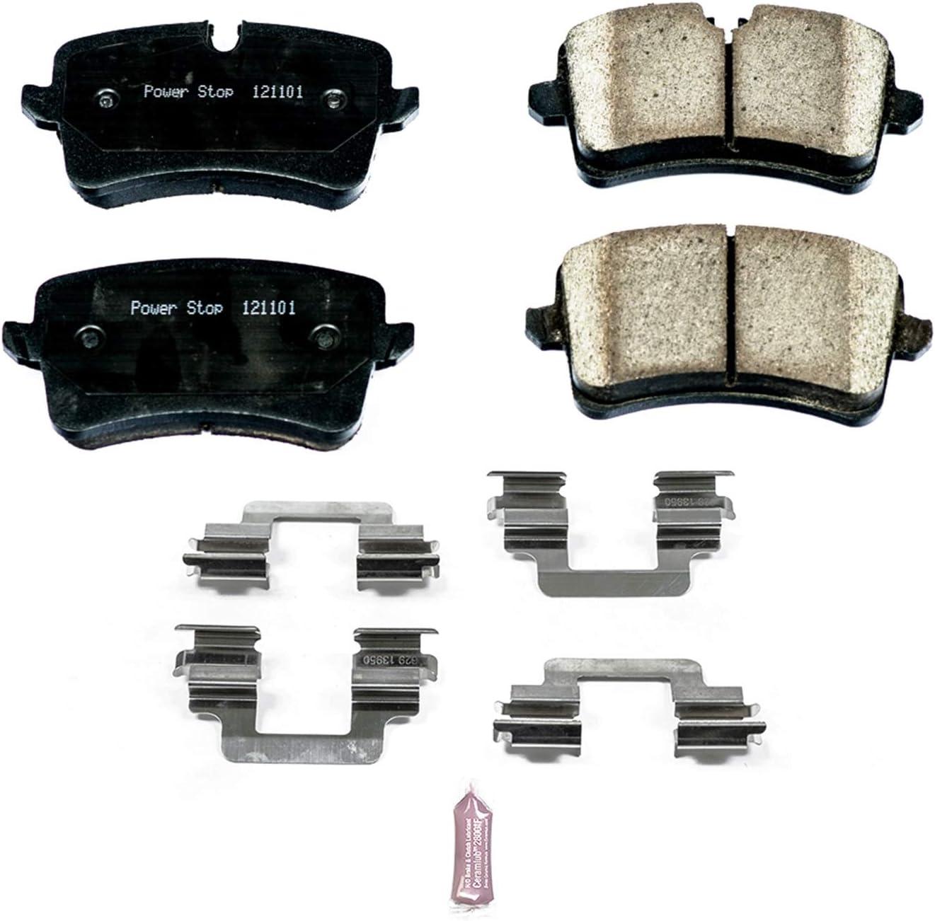 Disc Brake Pad Set-Z17 Evolution Plus Disc Brake Pad Front Power Stop 17-1549