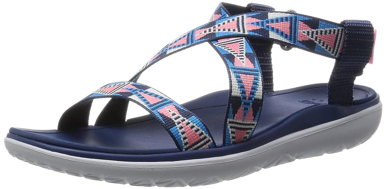 Teva Women's Terra-Float Livia Sandal B00ZFKXPRU 5 B(M) US|Pink/Blue