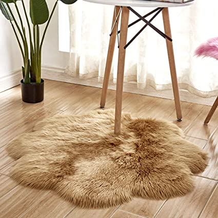 Baby Gyms & Playmats Baby Playmats Wool Imitation Sheepskin Rugs Faux Fur Bedroom Shaggy Carpet Window Mats Livingroom Decor Sofa Office Mats Mother & Kids