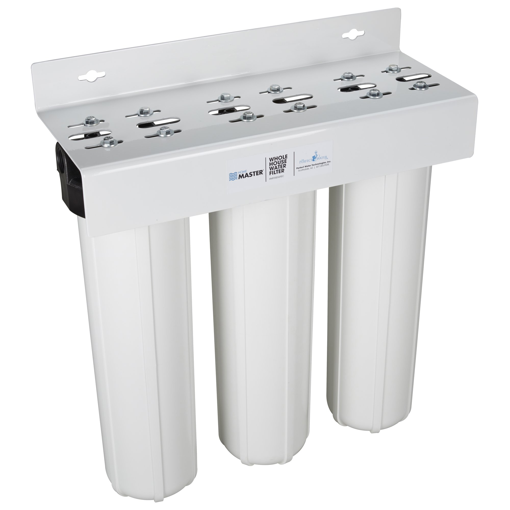 Home Master HMF3SDGFEC Whole House 3-Stage Water Filter with Fine Sediment, Iron, and Carbon by Home Master