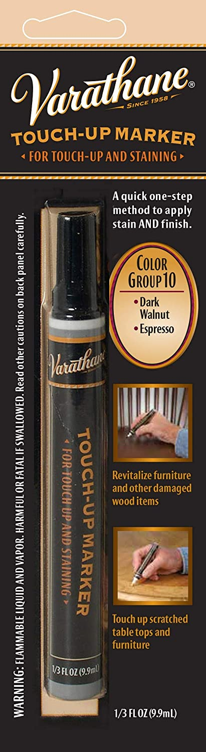 Varathane 215361 Wood Stain Touch-Up Marker For Dark Walnut, Espresso